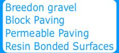 Breedon Gravel Block Paving Permeable Paving Resin Bonded Surfaces